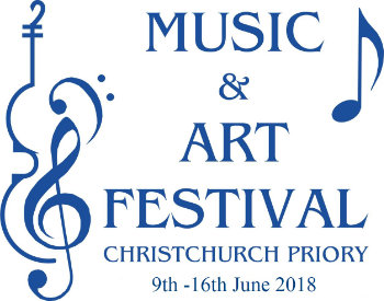 Music and Art Festival 2018. Christchurch Priory. 9th to 16th June 2018