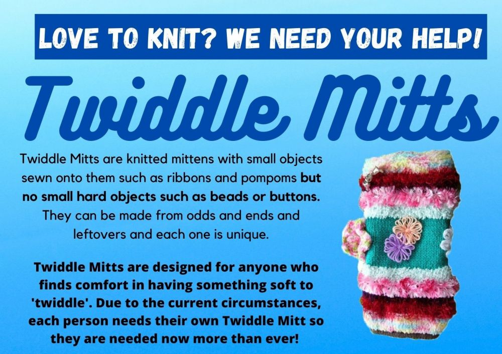 twiddle mitts poster