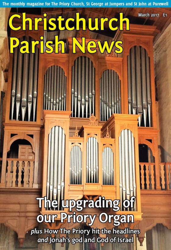 Christchurch Parish News cover