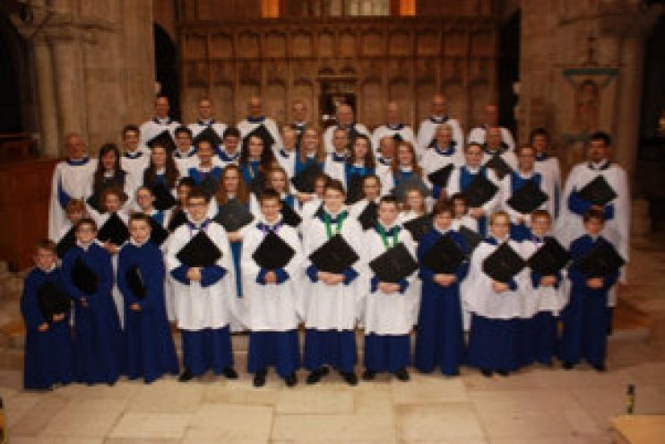 The Christchurch Priory choirs