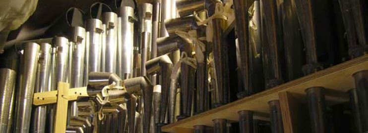 The Priory Nicholson Pipe Organ at Christchurch Priory